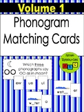 Phonogram Matching Cards - Volume 1