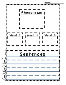 Phonogram Phonograms Multiple Use ack ed at ad ell et an en all ANY