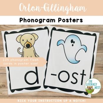 Orton-Gillingham Phonogram Posters