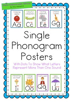 Phonogram Posters/Flashcards (suitable for use with LEM Ph