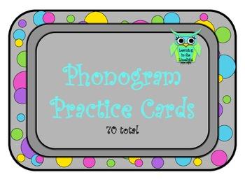 Spalding Phonogram Practice Cards