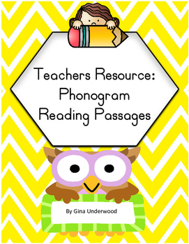 Spalding Phonogram Reading Passages