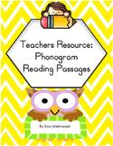 Spalding Phonogram Reading Passages