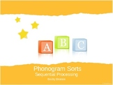 Phonogram Sort - Letter Sound Sort