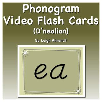 Phonogram Video Flash Cards  (D'nealian)