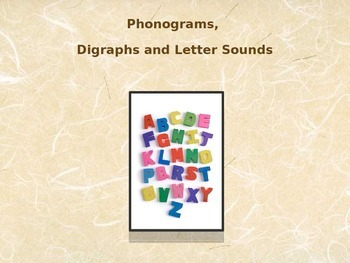 Phonogram/Digraph/Vowel Pattern Power Point