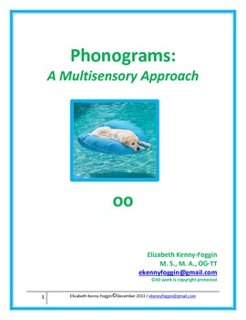 "Diphthong ""oo"": A Multisensory Approach"