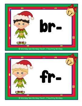 "Phonograms & Consonant Clusters ""Christmas Elf"" /Christmas"
