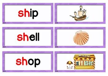 Phonograms Matching Cards