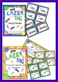 """Phonograms"" Word Chunks Lazer Tag & Consonant Clusters and Digraphs  Combo  Kit"