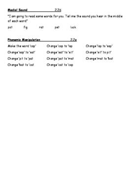 Phonological Awareness 3