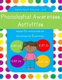 Phonological Awareness Activities - K.RF.2