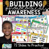 Phonological Awareness Activities: 1st Edition
