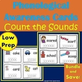 Phonological Awareness Activities - Count the Sounds Cards - The Bundle