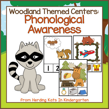 Phonological Awareness Activities - Rhyming, Syllables, Initial Sounds