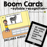 Phonological Awareness Activities: Syllable Recognition Bo