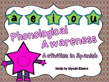 Phonological Awareness Activities in Spanish
