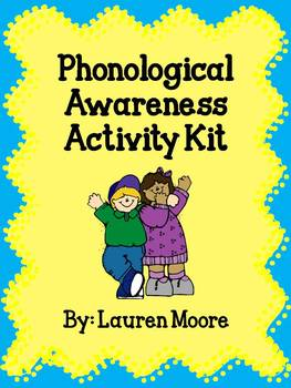 Phonological Awareness Activity Kit