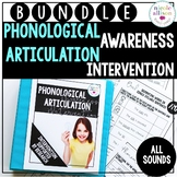Phonological Awareness Articulation Intervention BUNDLE