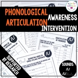 Phonological Awareness Articulation Intervention L LBlends