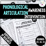 Phonological Awareness Articulation Intervention M B P