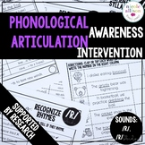 Phonological Awareness Articulation Intervention R RBlends