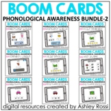 Phonological Awareness BUNDLE 2 | Speech Therapy Boom Cards™️