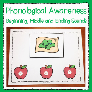 Phonological Awareness -- Beginning Middle Ending Sounds