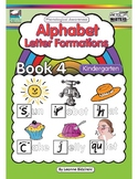 Phonological Awareness Book 4: Alphabet Letter Formations