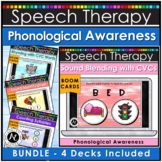 Boom Cards™ Speech Therapy Bundle Phonological Awareness
