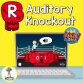 R Sound Boom Cards - Auditory Discrimination - Phonologica