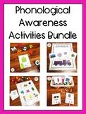 Phonological Awareness Activities Bundle