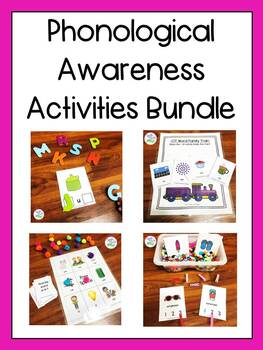Phonological Awareness Activities Bundle