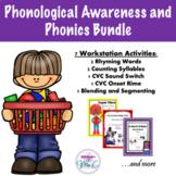 Phonological Awareness and Phonics Bundle