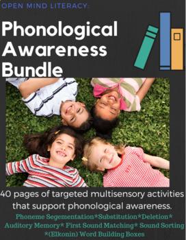 Phonological Awareness Bundle: Phoneme Segmentation, Substitution, & Deletion!