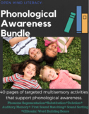Phonological Awareness Bundle:  Segmentation, Substitution