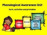 Phonological Awareness Bundle (Syllables, Rhyme, Phonemic Awareness)