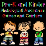 Phonological Awareness Centers:  Pre-K and Kinder