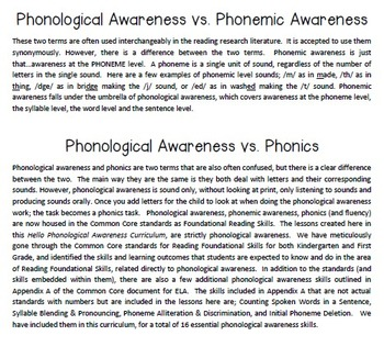 Phonological Awareness Curriculum: Text Based & Common Core-April {Set 2}