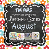 Phonological Awareness Curriculum: Text Based & Common Core-August {Set 2}