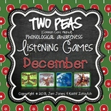 Phonological Awareness Curriculum: Text Based & Common Core-December {Set 2}