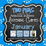 Phonological Awareness Curriculum: Text Based & Common Core-January {Set 2}