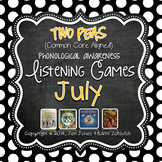 Phonological Awareness Curriculum: Text Based & Common Core-July {Set 2}