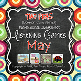 Phonological Awareness Curriculum: Text Based & Common Core-May {Set 2}