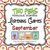 Phonological Awareness Curriculum: Text Based & Common Core - September {Set 2}