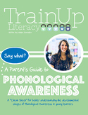 Phonological Awareness Development Chart
