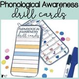 Phonological Awareness Drill Cards