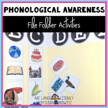 Phonological Awareness File Folder Fun with Syllables & Sounds
