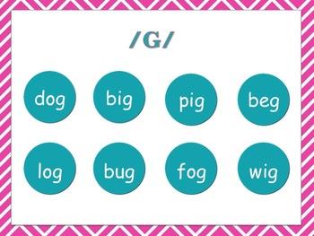 Phonological Awareness & Final Consonant Deletion - g, d, t, p