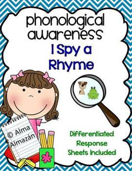 Rhyming-Phonological Awareness- I Spy a Rhyme